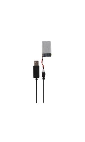 Cable de carga  para Dron Cuadricóptero - Cable de carga para Dron Cuadricóptero - rcqc1/sp4.Modelo: rcqc1sp4