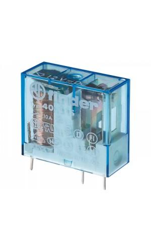 Relé 12V 1 Circuito 3 pines - Mini-relé standard Vcc.Ref: vr5v122c - 1 Cto./3 Pines - 10Amp./250Vca.Ref: rl118
