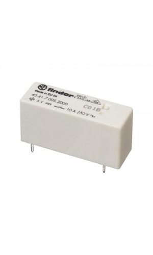Mini-relé Cto. Impreso 12Vcc/10A - Mini-relé Cto. Impreso 12Vcc/10A.Ref: rl190