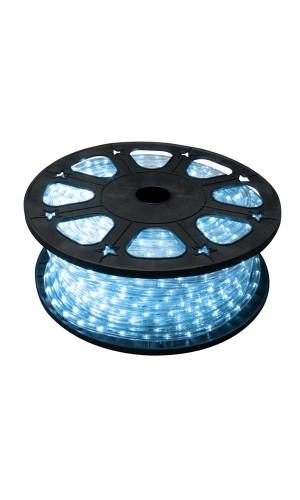 Manguera luminosa 45 metros color azul