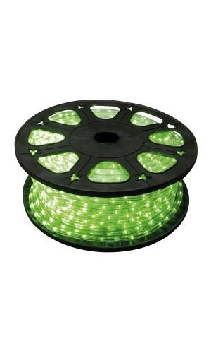 Manguera luminosa 45 metros color verde