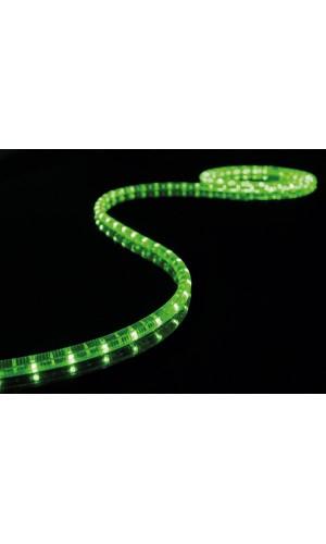 Rollo Manguera Luminosa 5 mts a Leds Verde