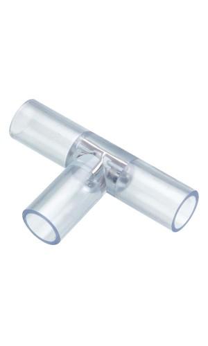 Conector en T para mangueras a leds - Conector en forma de