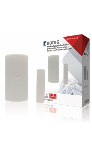 Sensor inalámbrico para ventanas para sas-alarm300 - Sensor inalámbrico para puertas/ventanas para la alarma SAS-ALARM-300.Ref: sas-asdw300
