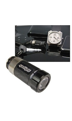 Linterna recargable en encendedor del coche - Linterna recargable en coche de 35 lumens.Ref.spotlight