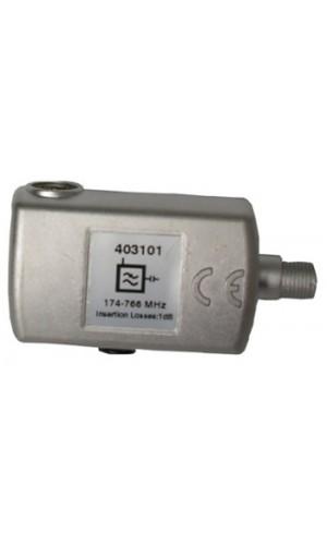 Filtro de rechazo LTE Televes - Filtro LTE F 470...774 MHz (C21-58).Ref: 403101