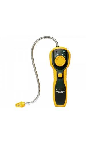 Detector de gases combustibles - Medidor para todo tipo de gases.Ref: tesmt4611