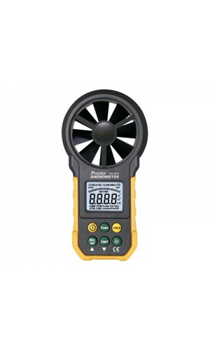 Anemómetro digital Proskit MT-4615 - Anemómetro digital para medir velocidad y volúmen del aire Proskit MT-4615.Ref: tesmt4615