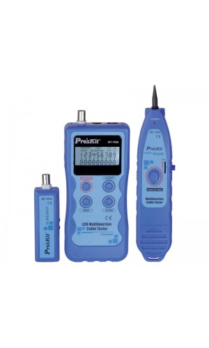 Tester de cables de red y tonos multifunción - Tester de cables de red y tonos multifunción MT-7059.Ref: tesmt7059