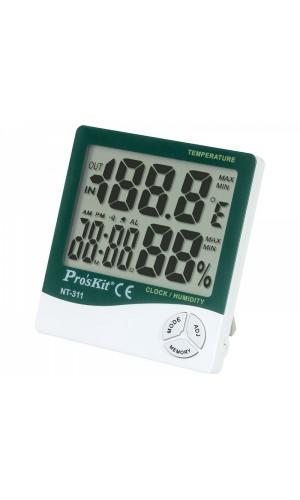 Medidor de temperatura y humedad para interior - Medidor de temperatura y humedad para interior Proskit modelo NT-311.Ref: tesnt311