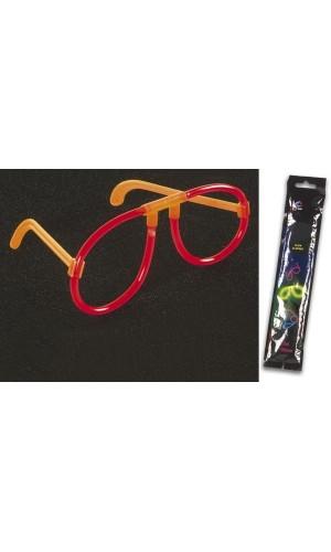 Gafas Luminiscentes Ø0.5 x 20cm - Rojo - Gafas Luminiscentes Ø0.5 x 20cm - Rojol. Ref: vdlilsglr