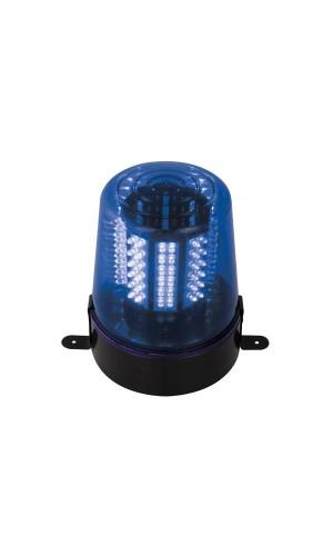 Luz rotativa a leds azul 12V - Luz rotativa con leds,color azul a 12V.Ref.vdllplb1