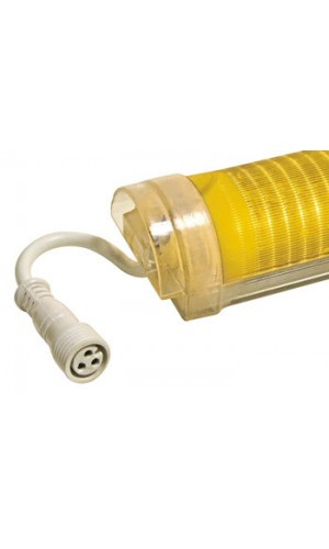 Tubo Led Amarillo 144 Leds.1030 x 50mm  - Tubo Led Transparente color Amarillo de 144 Leds de 1030X50 mm.Ref: vdlltcy