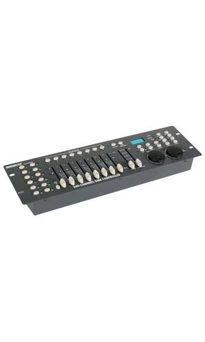 Controlador DMX de 240 canales - Controlador  DMX DE 240 canales con rueda jpg.Ref: vdpc130