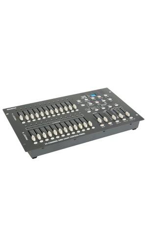 Controlador DMX de 24 canales