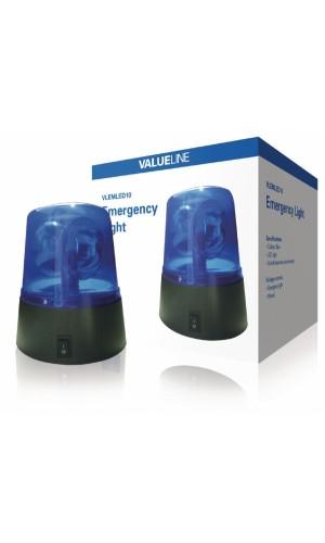 Luz de aviso estroboscópica azul - Luz de aviso estroboscópica azul 12V.Modelo: vlemled10