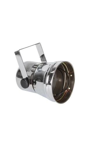 Foco PAR 36 Cromado - Foco Par36 cromado,entregado con soporte de montaje fusible y cable.Ref: vlp36c
