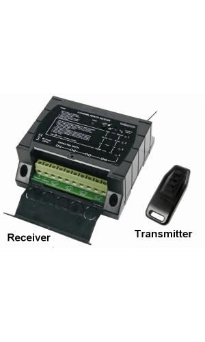 Juego con mando a distancia de 4 canales  - Juego con mando a distancia de 4 canales RF.Modelo: vm160