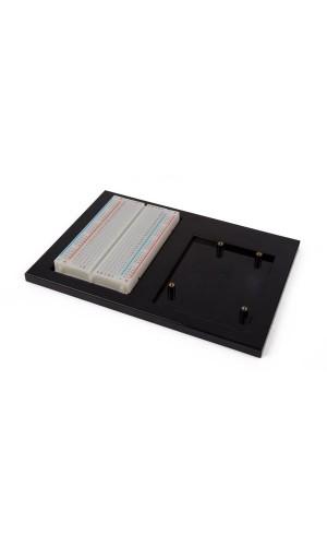 Soporte de Proyectos para placa de desarrollo Arduino® UNO - Soporte de Proyectos para placa de desarrollo Arduino® UNO + placa de pruebas.Ref: vma508