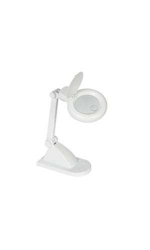 Lámpara de escritorio con lupa