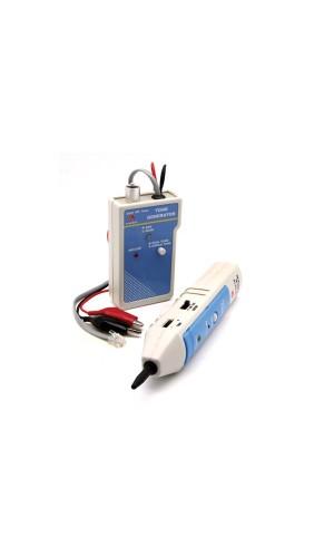 Detector de Cables con Generador - Detector de cables con generador de tonos.Ref: vttest11