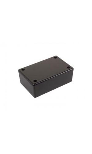 Caja de plástico ABS 85x55x30 mm - Caja de plástico color negro de  85 x 55 x 30mm.Ref: wcah2855