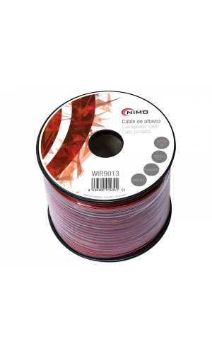 Cable Altavoz-Rojo/Negro-2x1.50mm²-100 m