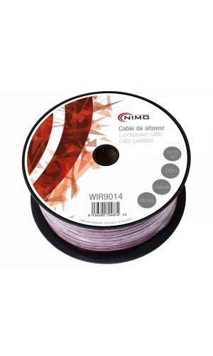 Cable Altavoz-Rojo/Negro-2x2.50mm²-100m