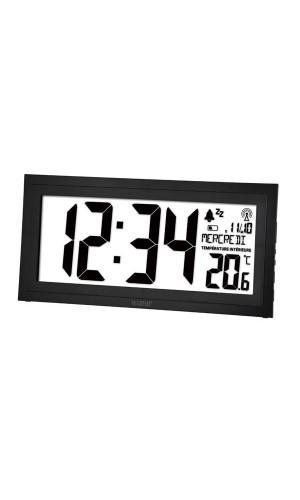 Reloj de pared DCF con calendario,temperatura - Reloj de pared DCF con calendario,temperatura y alarma.Ref: ws8010