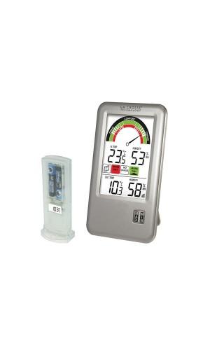 Reloj con temperatura interior/exterior - Reloj con temperatura interior/exterior y con sonda adicional.Modelo WS9070