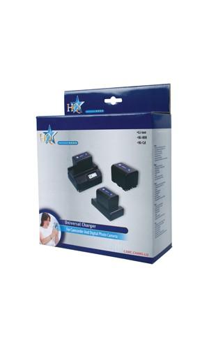 Cargador Universal Baterias Video - Cargador universal para baterias de videocamaras.Ref: camc.charg.li2