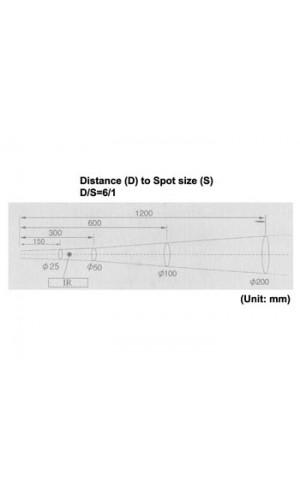 Termómetro IR de bolsillo - Termómetro IR de bolsillo (de -20º CA + 270º) Ref: dvm77n