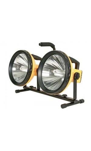 Trípode con dos Lámparas - Dos Lámparas  portatiles con trípode.Ref: ewl04