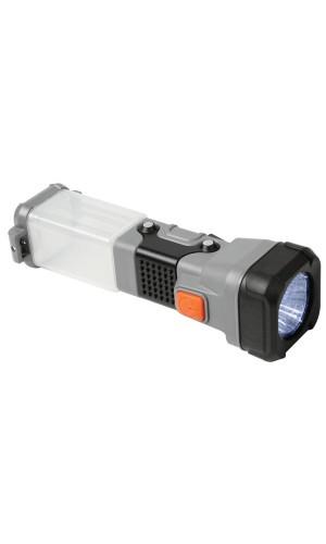 Linterna tipo Faro Multifunción - Linterna tipo Faro de Camping con leds multifunción.Modelo: zllc6