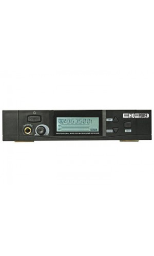 Receptor UHF True Diversity + Micrófono