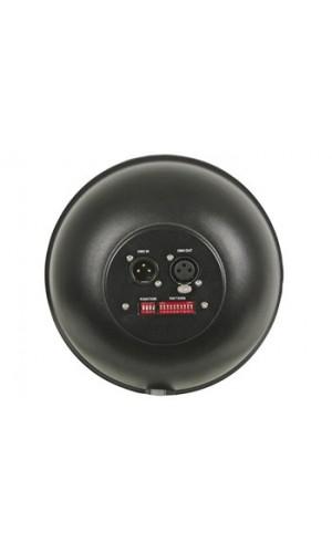 Foco Par corto con 108 leds de 10 mm - Foco PAR56 corto con 108 leds muy luminosos de color negro.Soporte doble.Ref: vdplp56sb2