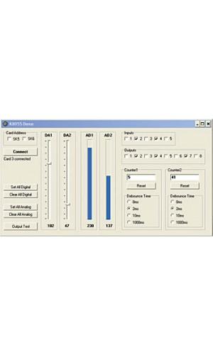 Tarjeta Interface USB experimentación - Kit Velleman interface USB para experimentación.Más información clicando sobre la  imagen.Ref.vm110