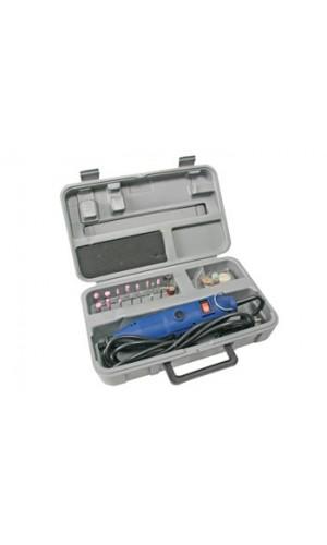 Taladro Eléctrico Alta Velocidad + accesorios - Taladro eléctrico de alta velocidad + Juego de Grabado de 41 unidades.Ref: vthd04