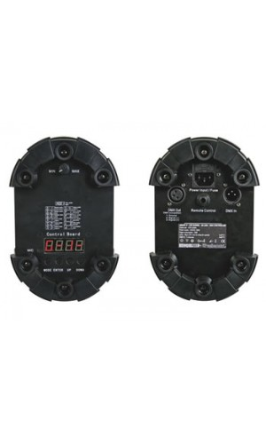 Efecto Arazu II-48 Leds - DMX - Efecto Luz Arazu  II,foco barrel  de 48 leds controlado por DMX.Ref: vdpl300ba