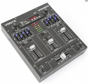 Mezclador Vonix 4 canales mod.STM-2270 - Mezclador Vonyx mod.STM2270 - 4 Canales con Efectos SD/USB/MP3/BT.Ref: 172.982