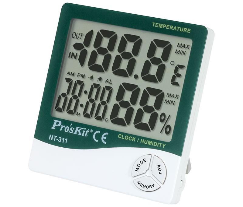 Medidor temperatura y humedad interior