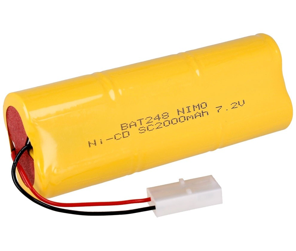 Pack Baterias tipo Racing 7,2V/2000MAH NI-CD - Pack Baterias tipo Racing 7,2V/2000MAH NI-CD