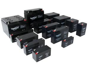 Bateria de Plomo 6V - 3.2Ah - Bateria de plomo de 6V - 3-2A.Medidas 134 x 34 x 66 mm.: das6-3.2