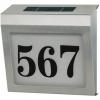 Placa con Panel Solar indicadora del Número - Panel solar con indicador luminoso del número de nuestra casa,negocio,etc.Ref: bn-house02