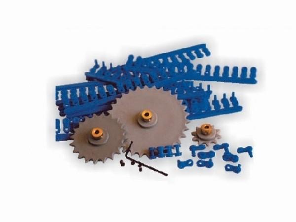 Kit cadenas y ruedas dentadas - Surtido de cadenas y ruedas dentadas