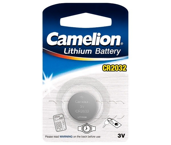 Pila Litio CR2032 3V 220 mAh Camelion