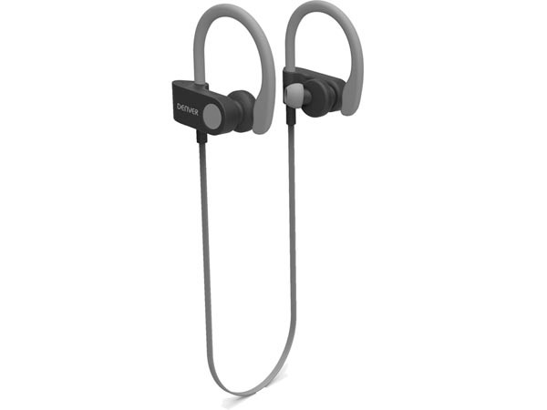 Auriculares deportivos bluetooth grises - Auriculares deportivos bluetooth grises