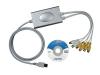 Conexión videograbadora 4 canales USB