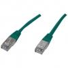 Conexión FTP Cat5 Verde 3 mts - Conexión FTP Cat5 de 3 metros color Verde.Ref: ftp-0007-3gr