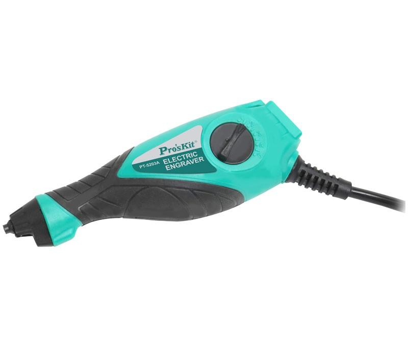 Grabador Proskit por impacto con 9 velocidades - Grabador eléctrico Proskit por impacto con 9 velocidad modelo  PT-5203I